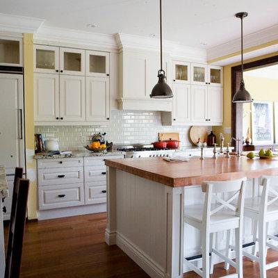 Kitchen - contemporary kitchen idea in Toronto