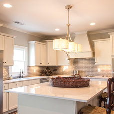 Transitional Kitchen by Signature Homes