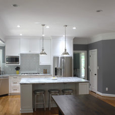 Transitional Kitchen by Five Quarter Makery