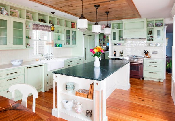 Beach Style Kitchen by Cape Associates, Inc.