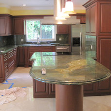 Traditional Kitchen by ARTE FACTO STONE DESIGN INC