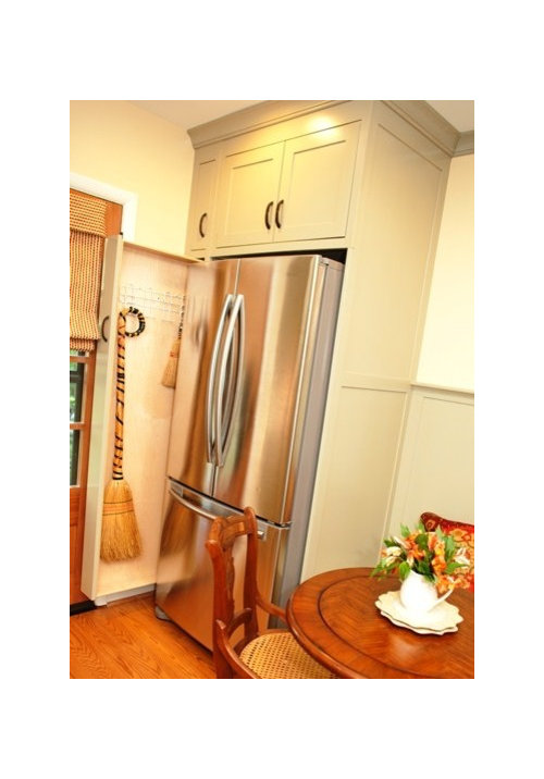 Beau Pull Out Broom Storage In A Kitchen · More Info