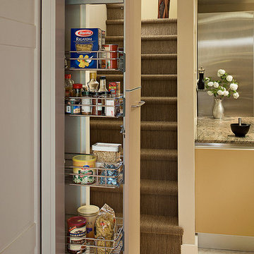 Pull out pantry in Galley kitchen