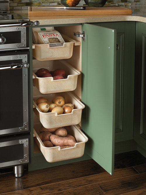 Dry Vegetable Produce Drawers Ideas, Pictures, Remodel and Decor