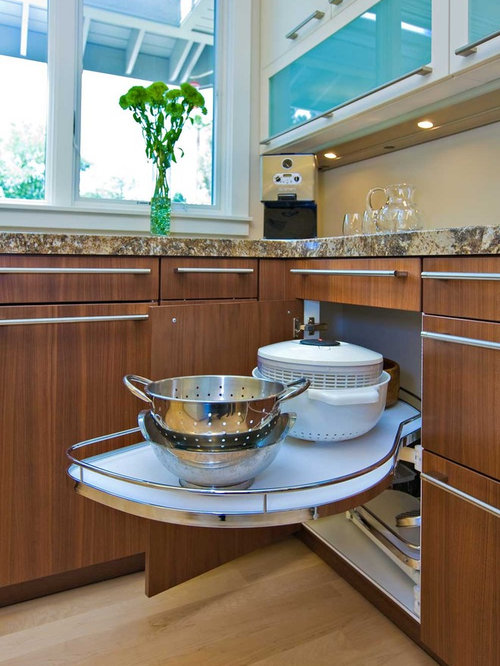 Best Kitchen Corner Shelf Design Ideas & Remodel Pictures | Houzz