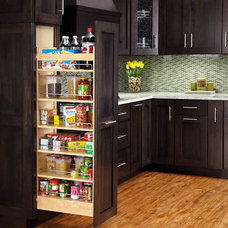 Traditional Pantry by CustomBuilt-ins.com / CFM Company Inc.