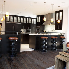 Contemporary Kitchen by Carolina V. Gentry, RID