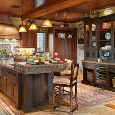 Rustic Kitchen by Peter Salerno Inc