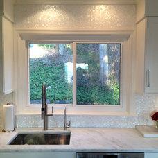 Contemporary Kitchen by ShellShock Designs
