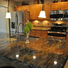Traditional Kitchen by Supreme Surface, Inc.