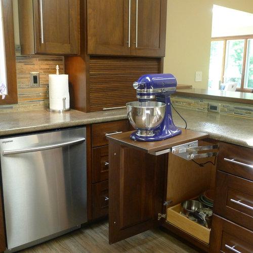 Kitchenaid Mixer Storage Ideas Pictures Remodel And Decor