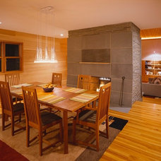 Contemporary Kitchen by The Wood Mill of Maine