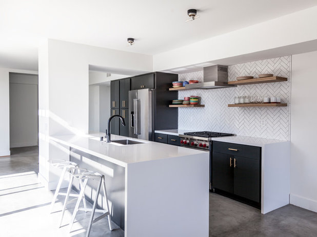Contemporary Kitchen by open mode