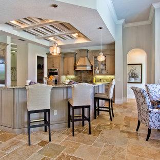 Cucina con pavimento alla veneziana Miami - Foto e Idee per ...