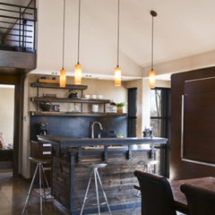 contemporary kitchen by Birdseye Design