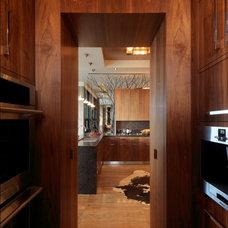 Rustic Kitchen by Birdseye Design