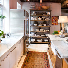 industrial kitchen by Jarrett Design, LLC