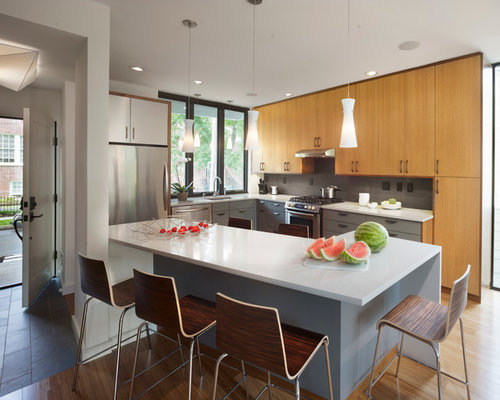 Entry Into Kitchen Home Design Ideas, Pictures, Remodel ...
