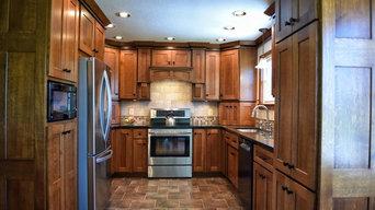Quarter-Sawn Oak Custom Kitchen