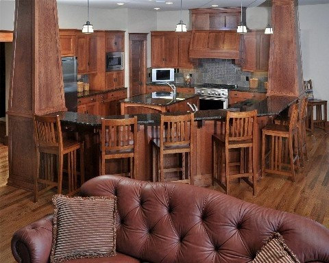 Quarter Sawn Red Oak cabinetry