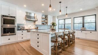 Quarter Sawn White Oak Flooring - Connecticut Kitchen