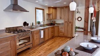 Quarter Sawn White Oak Kitchen Cabinetry