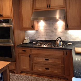 Quarter Sawn White Oak Kitchenin New England