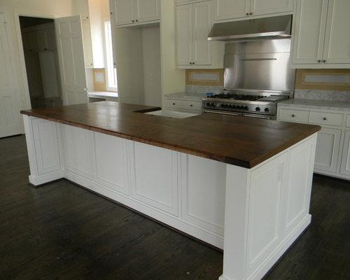 Quartersawn White Oak Kitchen Island Countertop