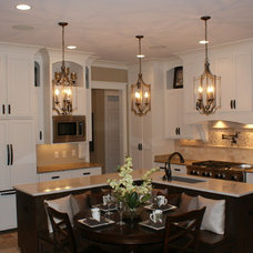 Traditional Kitchen by Coastal Stone & Cabinetry