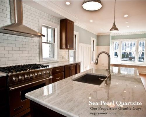 Sea Pearl Quartzite Home Design Ideas, Pictures, Remodel and Decor