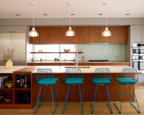 Seattle kitchen design ideas renovations photos with for Seattle kitchen designs