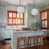 Kitchen of the Week: Goodbye, Honey Oak — Hello, Minty Green