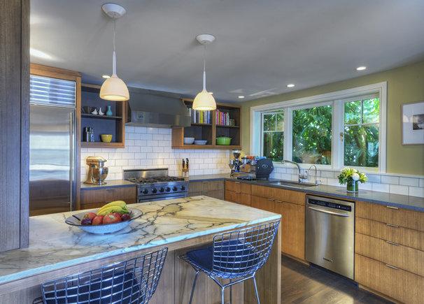 Midcentury Kitchen by Contour Woodworks