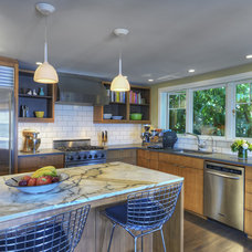 Midcentury Kitchen by DLH Inc