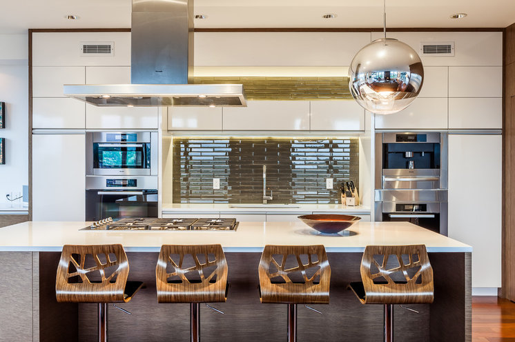 Contemporary Kitchen by Chris Pardo Design - Elemental Architecture