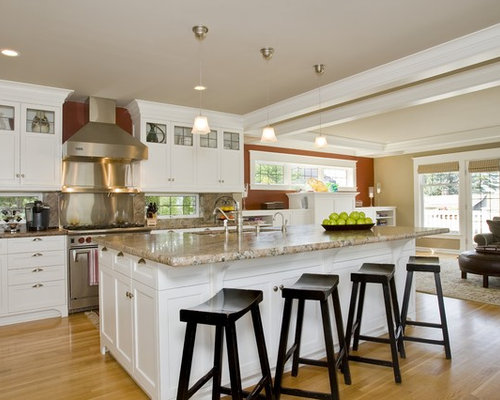 8x8 Open Plan Kitchen Design Ideas Renovations Photos