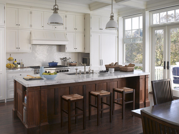 Traditional Kitchen by Aleck Wilson Architects