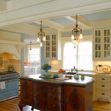 Traditional Kitchen by Lucy Johnson Interior Design