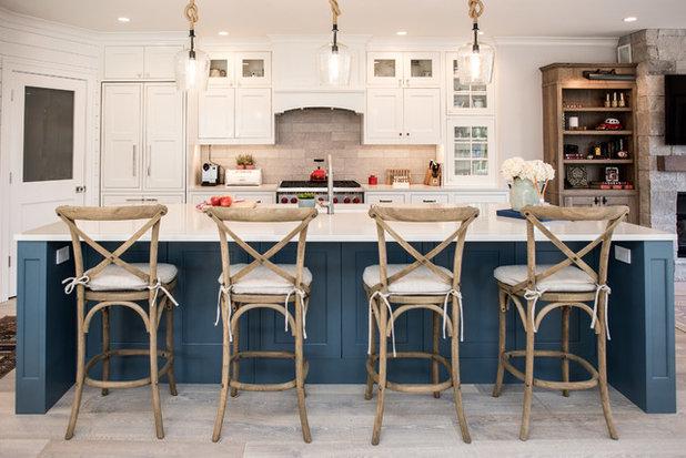 Stile Marinaro Cucina by CRD Design Build