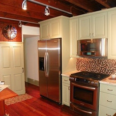 Eclectic Kitchen by Amy Cuker, MBA, LEED AP