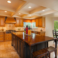 Traditional Kitchen by Aha Development Group, Inc.