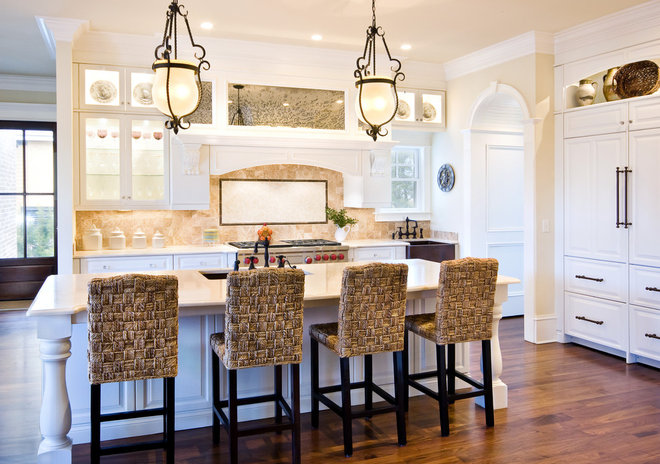 Traditional Kitchen by Jamison Howard
