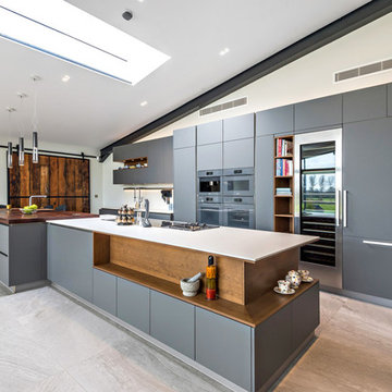 Quirky Contemporary Kitchen