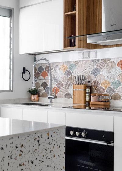 Scandinavian Kitchen by Team Interior Design