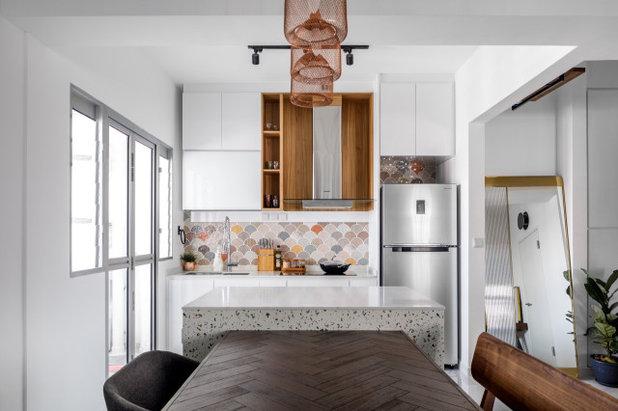 Contemporary Kitchen by Team Interior Design