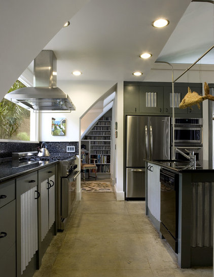 contemporary kitchen by Frederick + Frederick Architects
