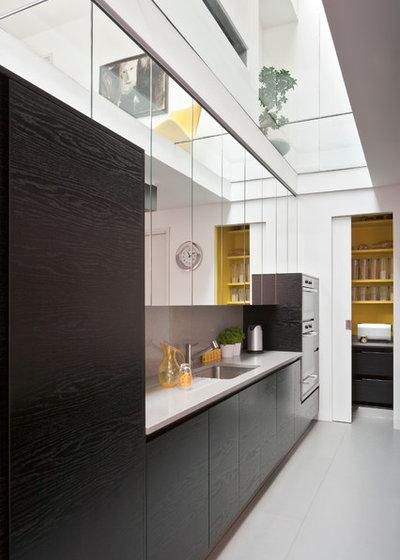 10 id es d co pour optimiser une cuisine lin aire for Cuisine etroite design