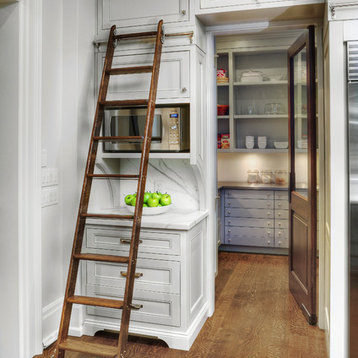 PERIMETER: Framed cabinetry with european hidden hinges – Painted ...