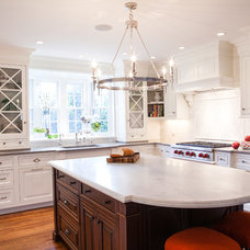 Traditional Kitchen by Pennville Custom Cabinetry