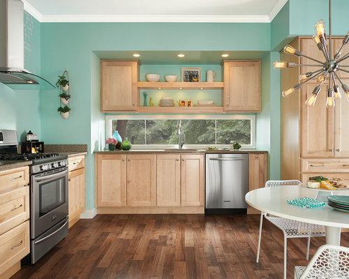 Natural Maple Kitchen Houzz